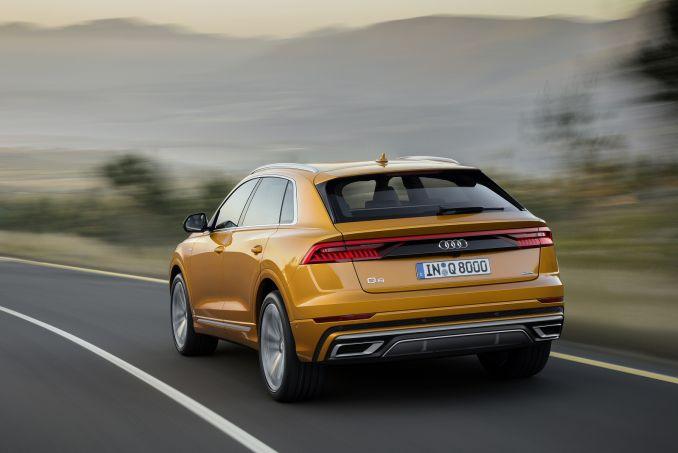 Image 5: Audi Q8 Estate 55 Tfsi Quattro S Line 5dr Tiptron [comfort+sound]