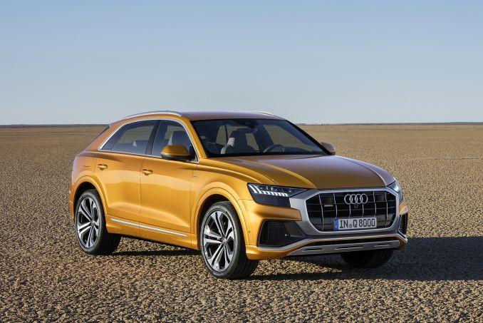 Image 1: Audi Q8 Diesel Estate 50 TDI Quattro S Line 5dr Tiptronic
