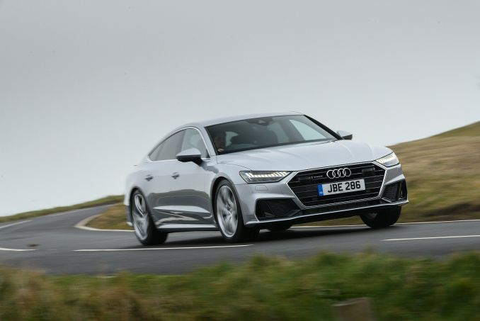 Image 3: Audi A7 Diesel Sportback 40 TDI Black Edition 5dr S Tronic