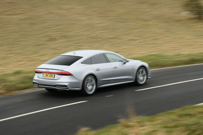 Image 4: Audi A7 Diesel Sportback 40 TDI Black Edition 5dr S Tronic