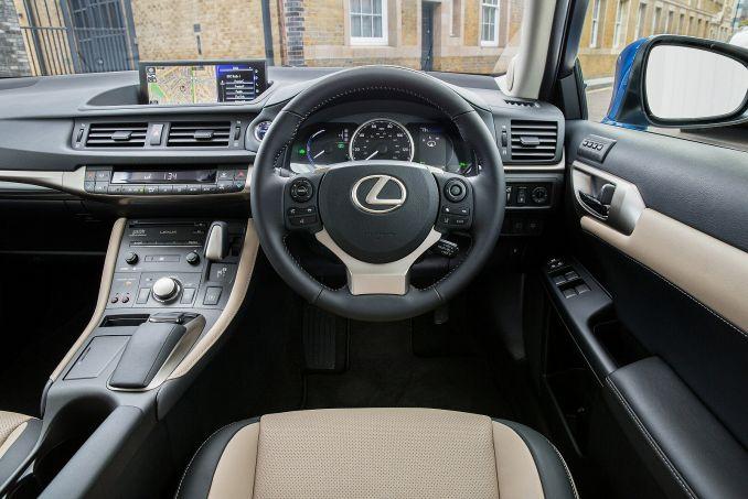 Image 2: Lexus CT Hatchback 200H 1.8 5dr CVT