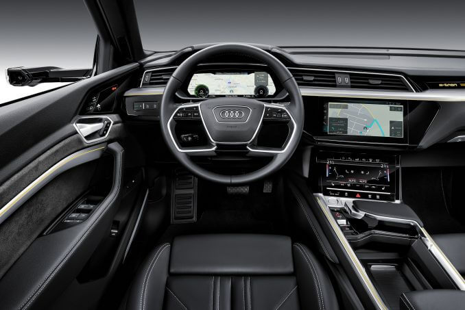 Image 6: Audi E-Tron Estate Special Editions 300KW 55 Quattro 95KWH Launch Edition 5dr Auto