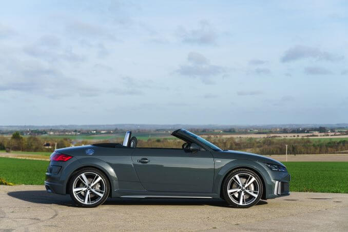 Video Review: Audi TT Roadster 40 Tfsi S Line 2dr S Tronic