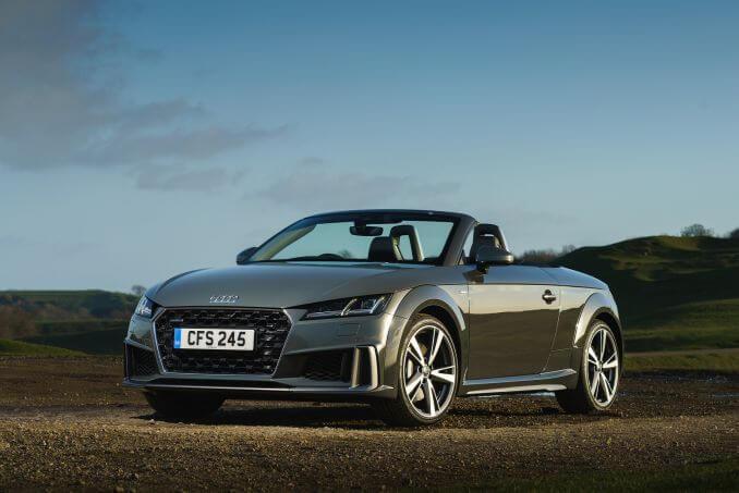Video Review: Audi TT Roadster 40 Tfsi Sport 2dr S Tronic