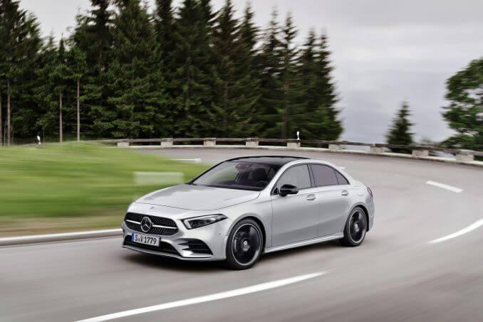 Image 4: Mercedes-Benz A Class Diesel Saloon A180d AMG Line Executive 4dr Auto