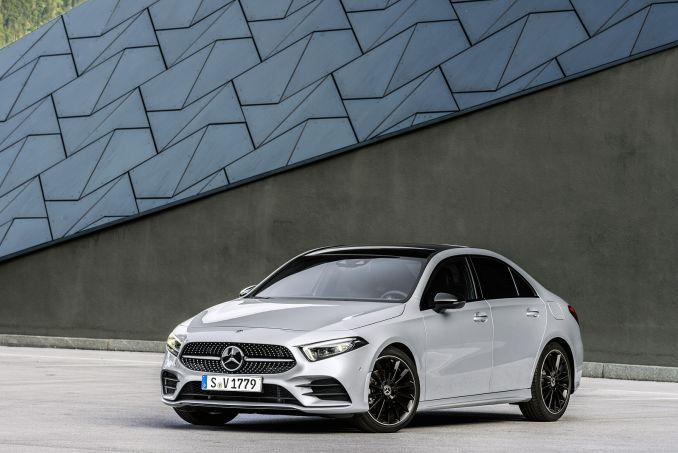 Image 1: Mercedes-Benz A Class Saloon A200 Sport Premium 4dr Auto