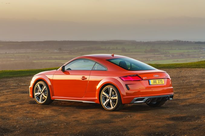 Image 2: Audi TT Coupe 45 Tfsi Black Edition 2dr