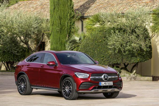 Video Review: Mercedes-Benz GLC Diesel Coupe GLC 300D 4matic AMG Line Prem Plus 5dr 9G-Tronic