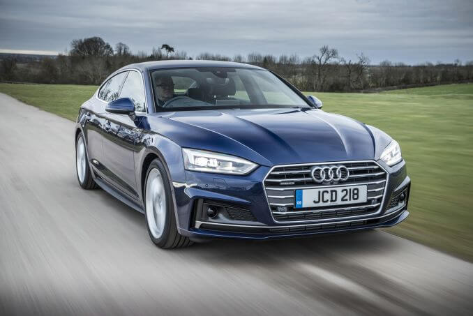 Video Review: Audi A5 Diesel Sportback 40 TDI Black Edition 5dr S Tronic