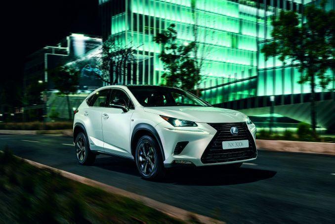 Video Review: Lexus NX Estate 300H 2.5 5dr CVT [sport Pack]
