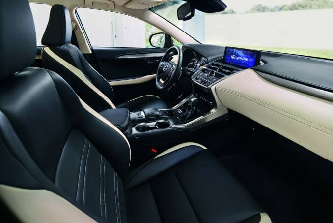 Image 2: Lexus NX Estate 300H 2.5 5dr CVT [sport Pack]