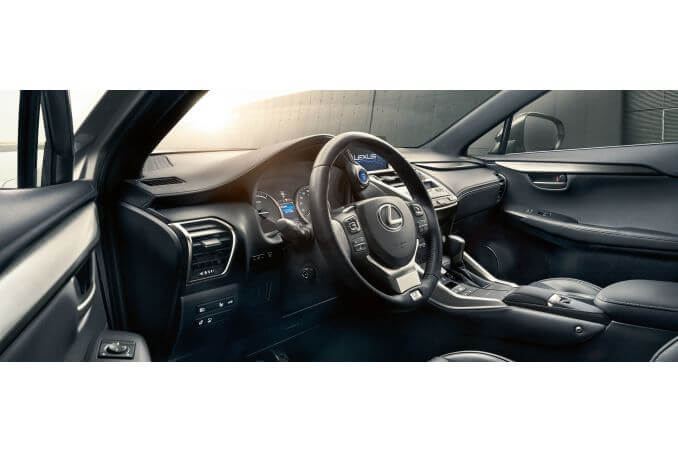 Image 4: Lexus NX Estate 300H 2.5 5dr CVT [navigation]
