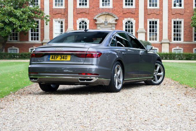 Image 2: Audi A8 Saloon L 55 Tfsi Quattro S Line 4dr Tiptronic [C+S]