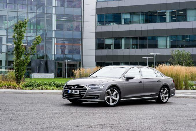 Image 5: Audi A8 Saloon 55 Tfsi Quattro Black Edition 4dr Tiptronic