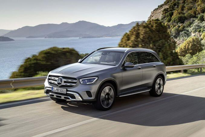 Video Review: Mercedes-Benz GLC Estate GLC 300 4matic AMG Line 5dr 9G-Tronic