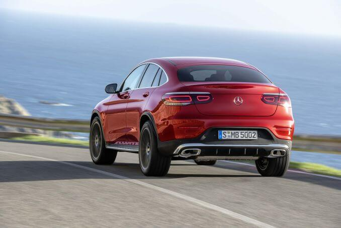 Image 4: Mercedes-Benz GLC Diesel Coupe GLC 300D 4matic AMG Line Premium 5dr 9G-Tronic
