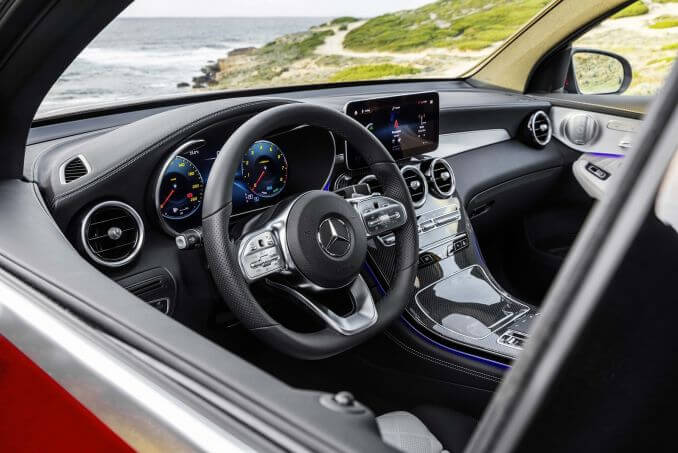 Image 3: Mercedes-Benz GLC Diesel Coupe GLC 300D 4matic AMG Line Premium 5dr 9G-Tronic