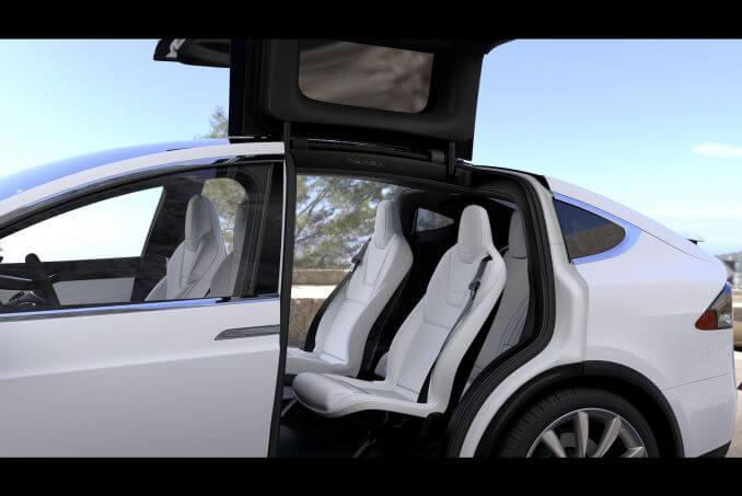 Image 4: Tesla Model X Hatchback Long Range AWD 5dr Auto