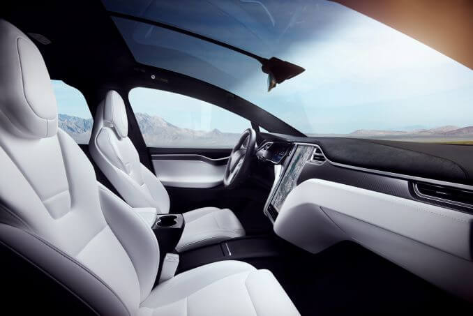 Image 3: Tesla Model X Hatchback Long Range AWD 5dr Auto