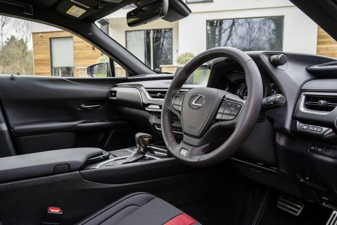 Image 6: Lexus UX Hatchback 250H 2.0 5dr CVT