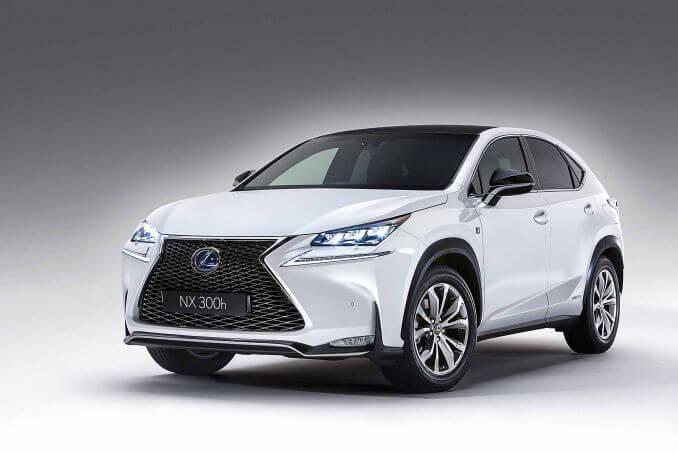Video Review: Lexus NX Estate 300H 2.5 5dr CVT [navigation]
