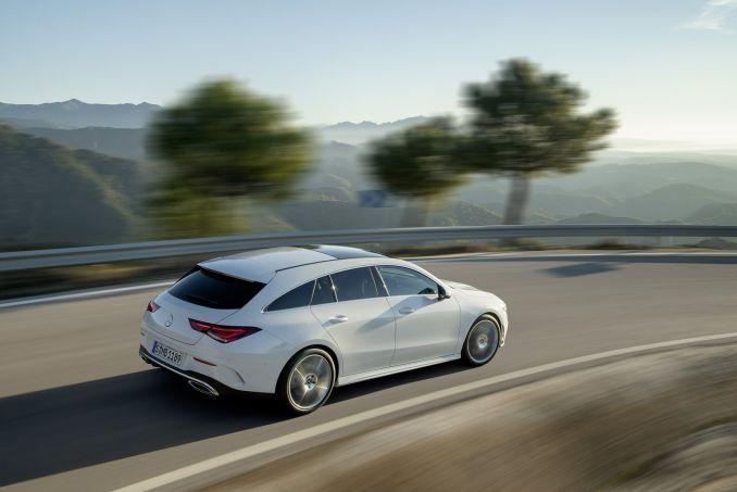 Image 4: Mercedes-Benz CLA Class Shooting Brake CLA 200 AMG Line Premium 5dr TIP Auto