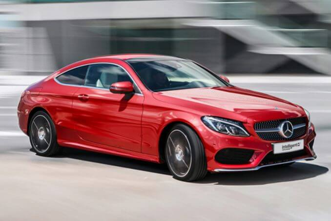Video Review: Mercedes-Benz C Class Coupe C200 AMG Line 2dr 9G-Tronic