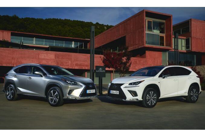 Image 5: Lexus NX Estate 300H 2.5 5dr CVT [sport Pack]
