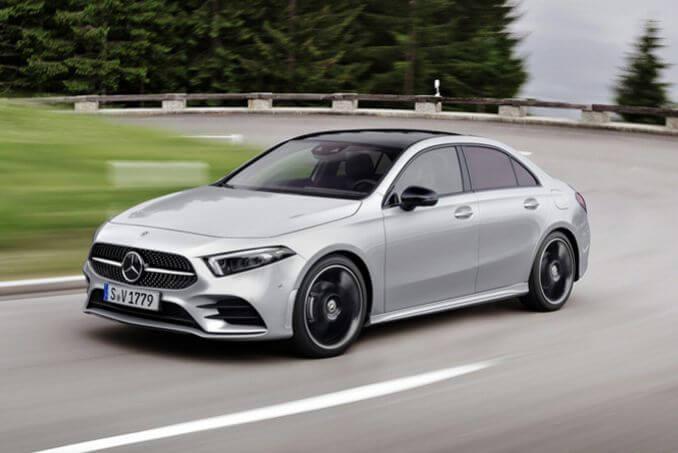 Image 1: Mercedes-Benz A Class Saloon A200 Sport 4dr Auto
