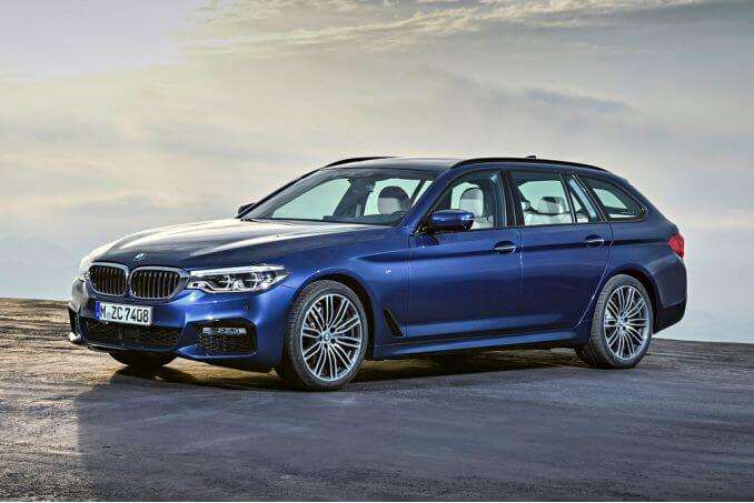 Video Review: BMW 5 Series Diesel Touring 520D MHT M Sport 5dr Auto