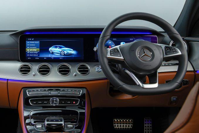 Image 2: Mercedes-Benz E Class Diesel Saloon E220d AMG Line Edition 4dr 9G-Tronic