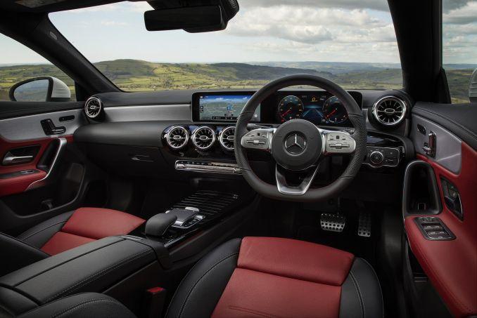 Image 3: Mercedes-Benz CLA Class Coupe CLA 180 AMG Line 4dr TIP Auto