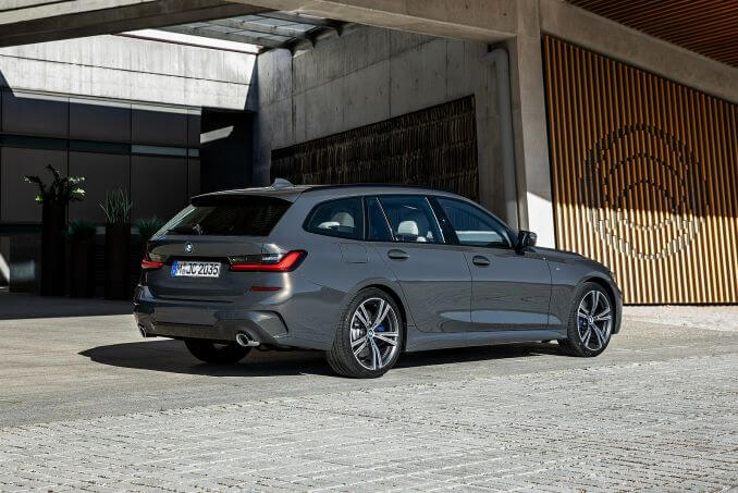 Image 2: BMW 3 Series Diesel Touring 320D M Sport 5dr Step Auto [plus Pack]