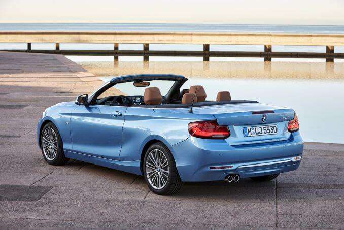 Image 2: BMW 2 Series Convertible 218I M Sport 2dr [NAV] Step Auto
