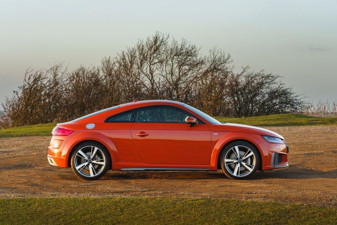Image 2: Audi TT RS Coupe TT RS Tfsi Quattro 2dr S Tronic [comfort+sound]