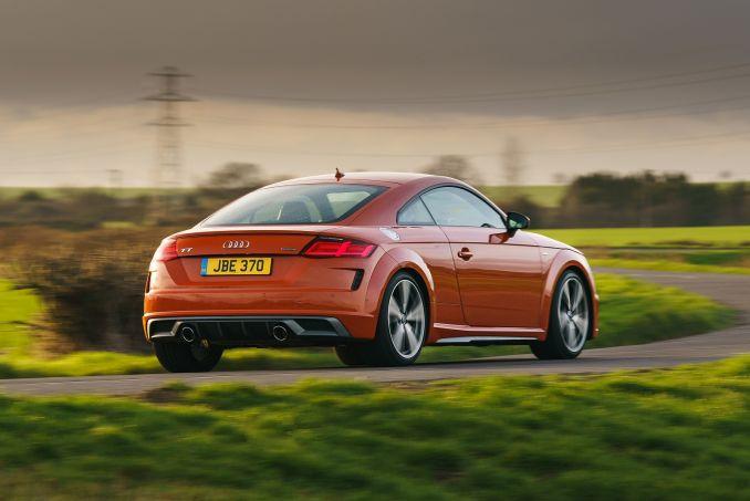 Image 4: Audi TT RS Coupe TT RS Tfsi Quattro 2dr S Tronic [comfort+sound]