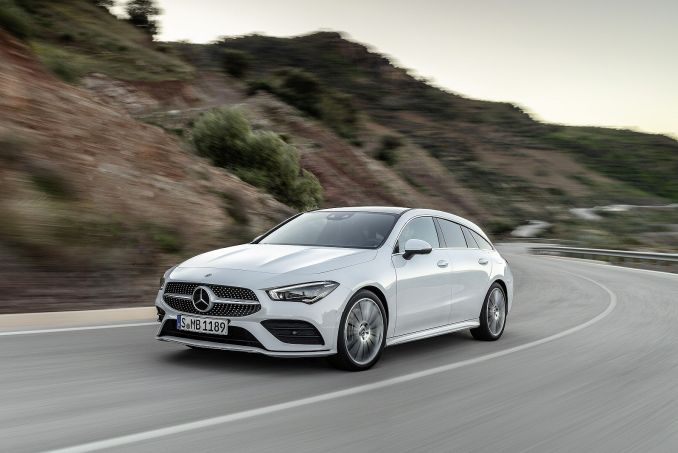 Video Review: Mercedes-Benz CLA Class Shooting Brake CLA 200 AMG Line 5dr TIP Auto