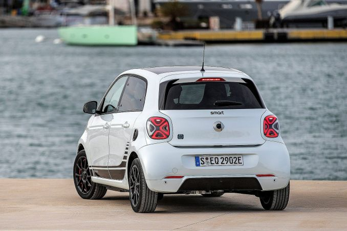 Image 3: Smart Forfour Electric Hatchback 60KW EQ Passion Advanced 17KWH 5dr Auto [22kwch]