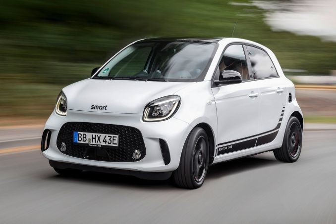 Image 4: Smart Forfour Electric Hatchback 60KW EQ Passion Advanced 17KWH 5dr Auto [22kwch]