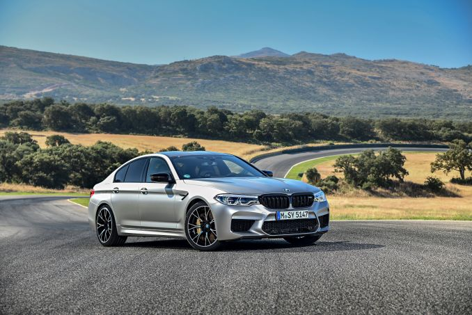 Image 2: BMW M5 Saloon M5 Competition 4dr DCT