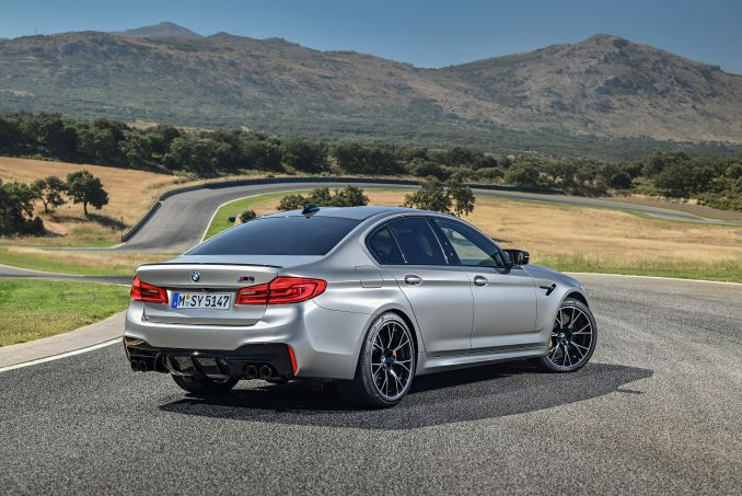 Image 4: BMW M5 Saloon M5 Competition 4dr DCT