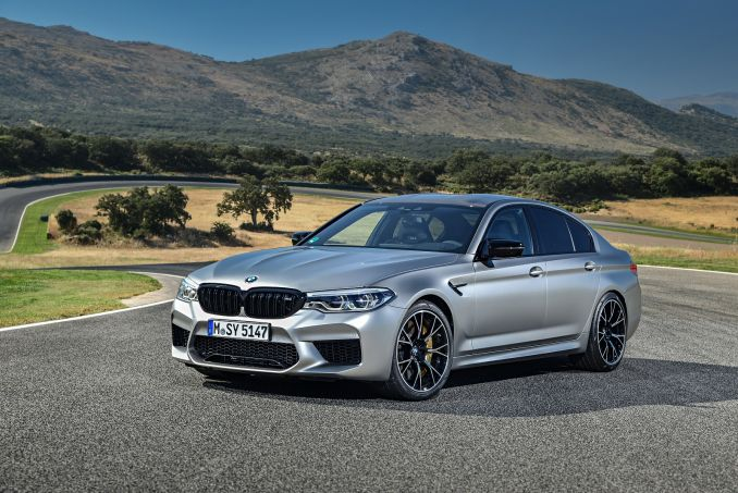 Video Review: BMW M5 Saloon M5 Competition 4dr DCT