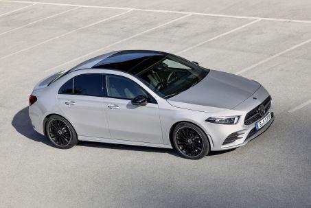 Image 1: Mercedes-Benz A Class Diesel Saloon A180d AMG Line Executive 4dr Auto