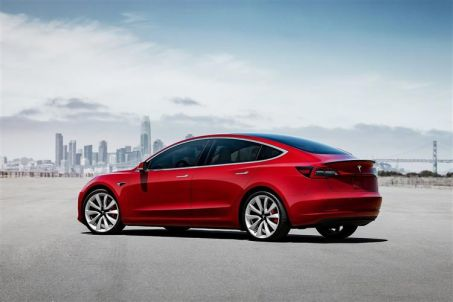 Tesla Model 3 Saloon Long Range AWD 4dr Auto On Lease From ...