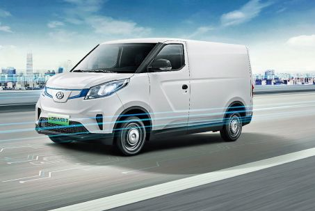 Image 1: Maxus E Deliver 3 L2 Electric 90KW Chassis CAB 52.5KWH Auto