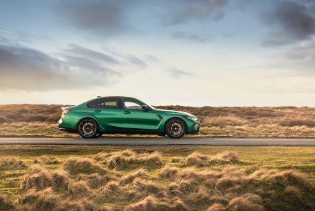 Image 1: BMW M3 Saloon M3 Xdrive Competition M 4dr Step Auto [M Carbon]